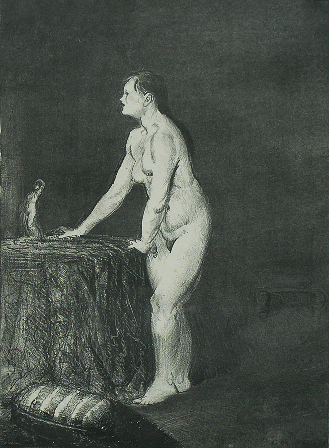 Statuette - GEORGE BELLOWS - lithograph