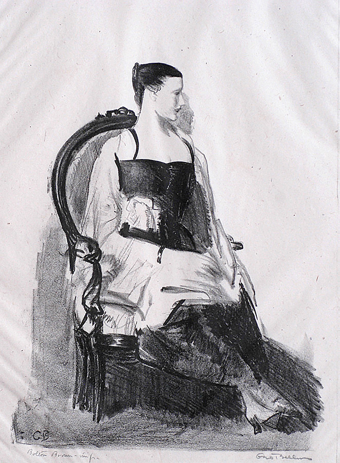 Elsie, Figure - GEORGE BELLOWS - lithograph