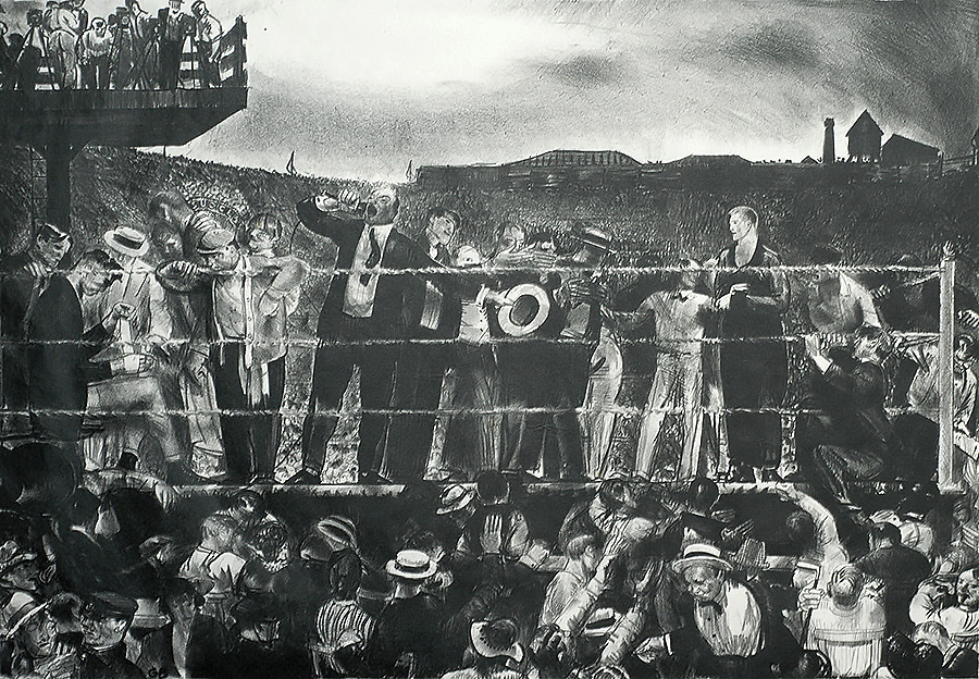 Introducing Georges Carpentier - GEORGE BELLOWS - lithograph