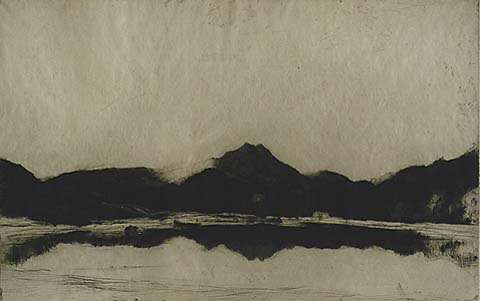 Ben Lomond - DAVID YOUNG CAMERON - etching and drypoint