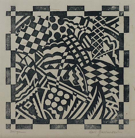 Design - KARL GASSLANDER - blockprint