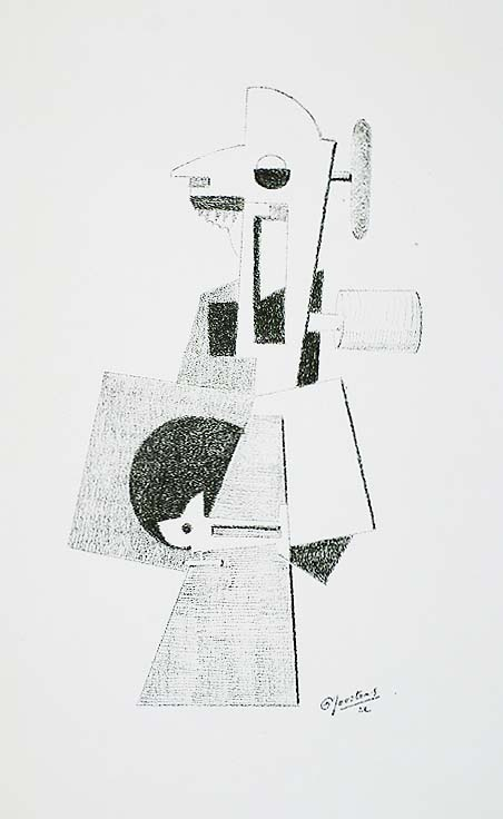 Untitled - PAUL JOOSTENS - lithograph