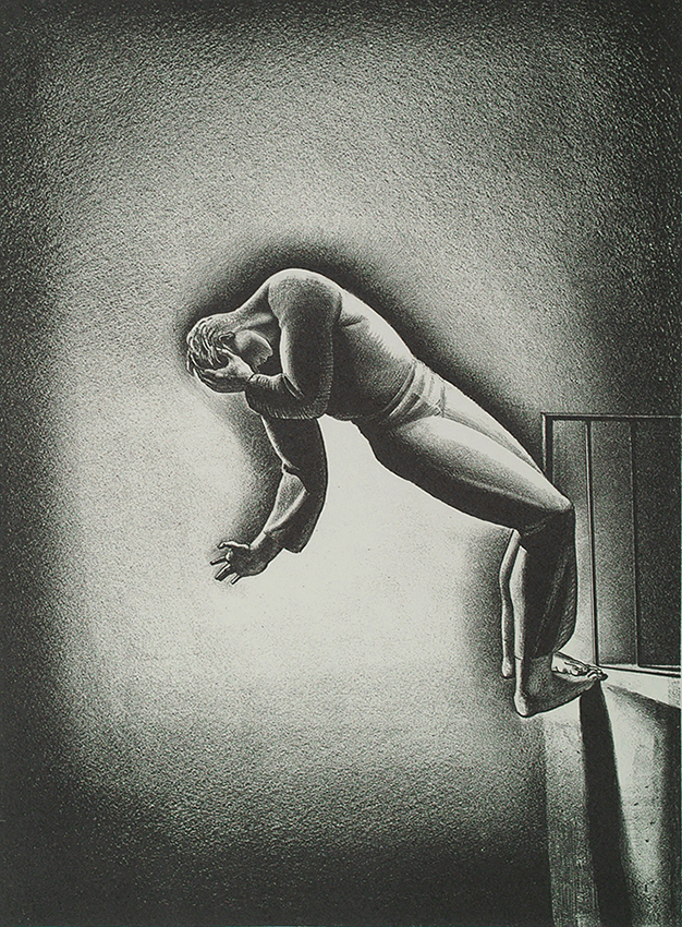 Nightmare - ROCKWELL KENT - lithograph
