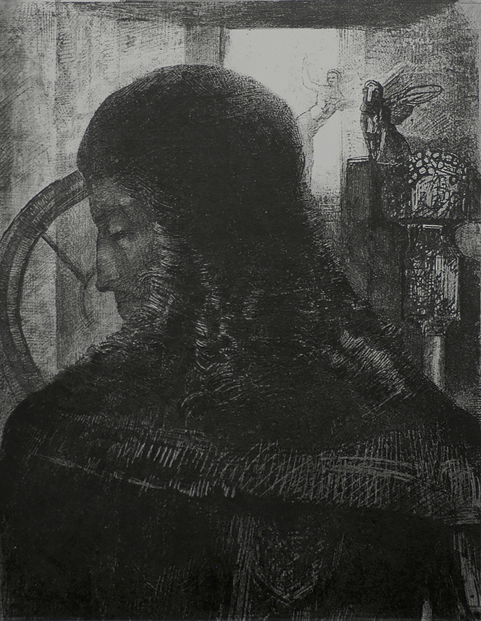 Vieux Chevalier (Old Knight) - ODILON REDON - lithograph