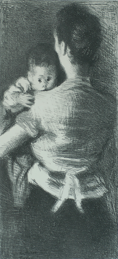 Protected - RAPHAEL SOYER - lithograph