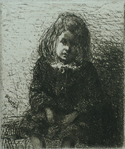 Little Arthur - JAMES A. MCNEILL WHISTLER - etching