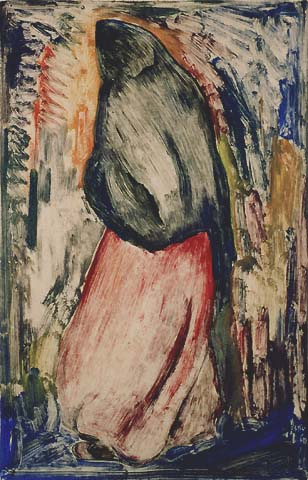 Figure - CARL PAPPE - monotype