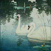 Two Swans -  SEABY
