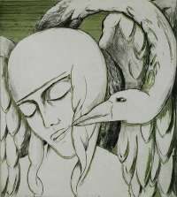 Leda and the Swan -  TIELEMANS