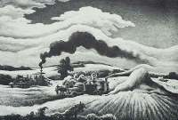 Threshing -  BENTON