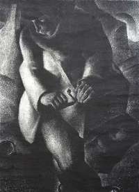 Seated Figure in the Shadows -  ANTO-CARTE (ANTOINE CARTE)