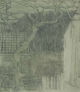 Village Houses (Dorpshuizen) - JAN TOOROP