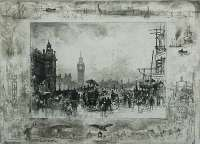Westminster Bridge (or Westminster Clock Tower) -  BUHOT