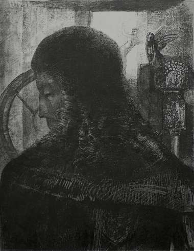 Vieux Chevalier (Old Knight) - ODILON REDON