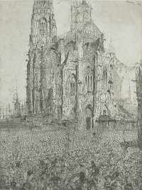 The Cathedral (first plate) -  ENSOR