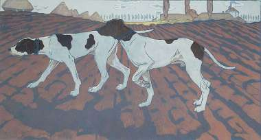 Pointer Dogs (Chiens d'ârret), or, Two Pointers (Deux Pointers) - MAURICE TAQUOY