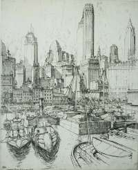 Towers, Tugs and Barges (New York) -  ROTH