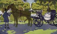 Carriage Scene in Sunlight -  TAQUOY