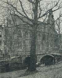 Academiegebouw (at the Rappenburg, Leiden) -  HAVERKAMP