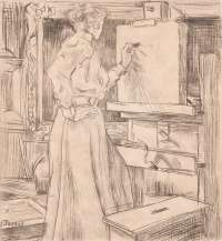 In the Studio (In t' Atelier) -  TOOROP