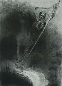 And his Name that sat on Him was Death (Et Celui qui monté Dessus se nommait la Mort) -  REDON