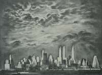 Storm over Manhattan -  LOZOWICK