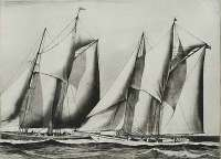 Yacht Racing -  HORTER
