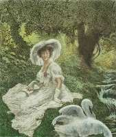 Lady and the Swan -  LA TOUCHE