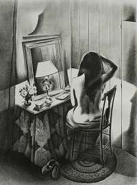 Nude Seated at a Dressing Table -  GOOD