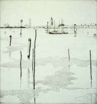 Venice From the Lido -  RICHARDS