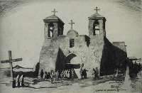Church at Ranchos de Taos -  PEARSON