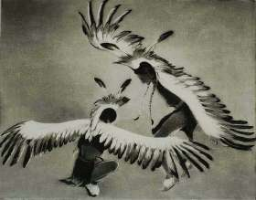 Taos Eagle Dancers - GENE KLOSS