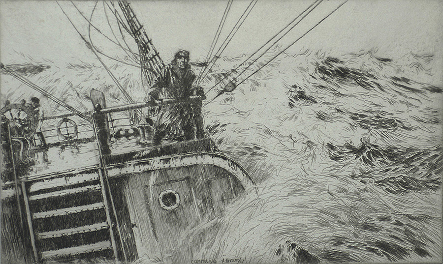 Command - ARTHUR BRISCOE - etching