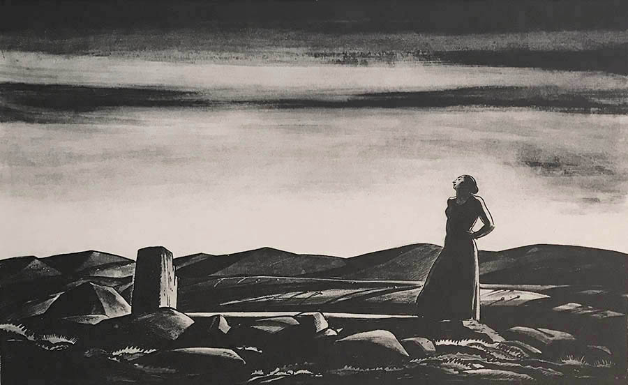 Revisitation - ROCKWELL KENT - lithograph