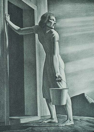 Good-Bye Day - ROCKWELL KENT - lithograph