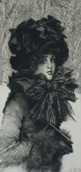 Le Dimanche Matin (Sunday Morning) - JAMES TISSOT - etching and drypoint