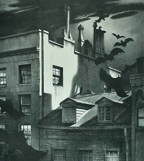 Strange Visitors (New York) - STOW WENGENROTH - lithograph