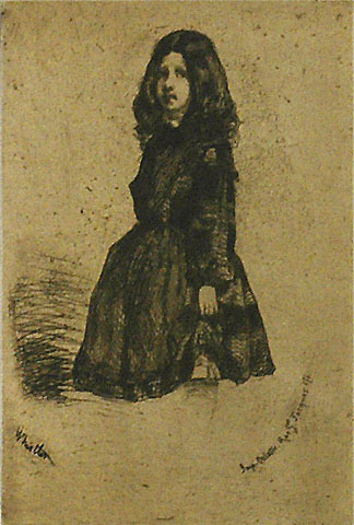 Annie - JAMES A. MCNEILL WHISTLER - etching
