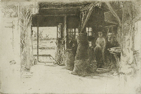 The Mill - JAMES A. MCNEILL WHISTLER - etching