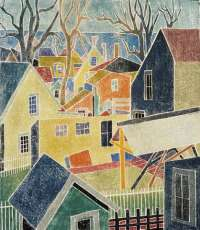 Backyards, Provincetown -  LAZZELL