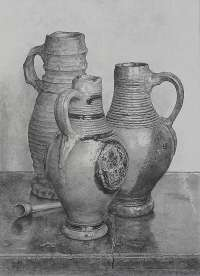 Still Life with Jugs -  MUHLSTAFF