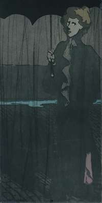 L'averse (The Downpour) -  STEINLEN