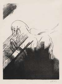 Winged Horse (Cheval Ailé) -  REDON