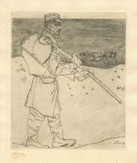 The Shell Fisherman (De Schelpenvisser) -  TOOROP