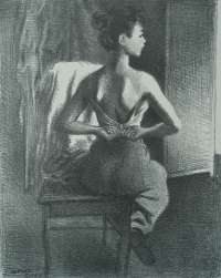 Young Model (The Model) -  SOYER