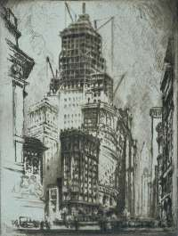 Standard Oil Building (New York) -  PENNELL