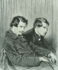 Edmond and Jules de Goncourt -  GAVARNI