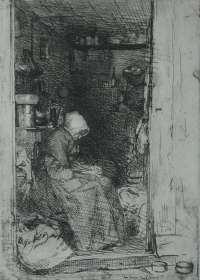 La Vieille au Loques (The Old Rag Woman) -  WHISTLER