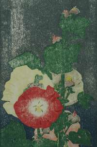 Hollyhocks -  HOPKINS