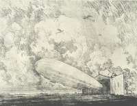 The Zeppelin Starts, No. 1 -  PENNELL
